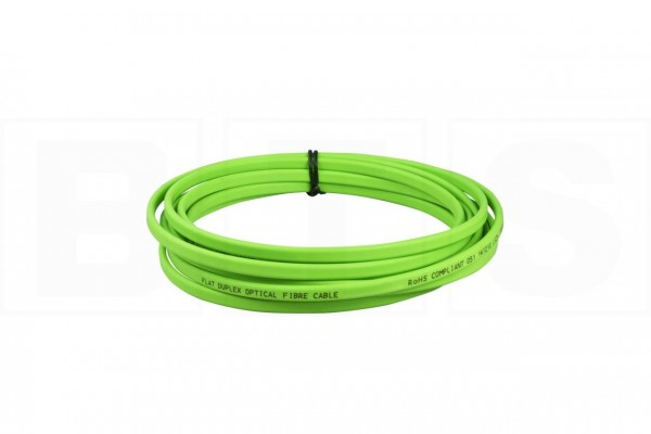 LWL Duplex Breakout-Patchkabel LC-LC G50/125µm OM5 in lime-green