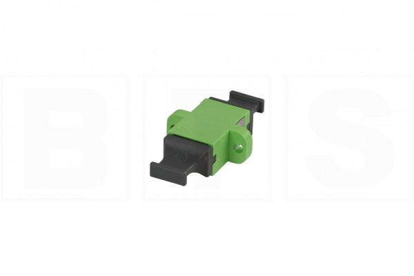 LWL Kupplung MPO/MTP® Multimode, lime-green, mit Flansch
