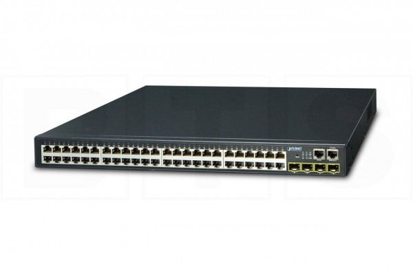 Layer 3 48-Port 10/100/1000T + 4-Port 1000X SFP Stackable Managed Switch SGS-6340-48T4S